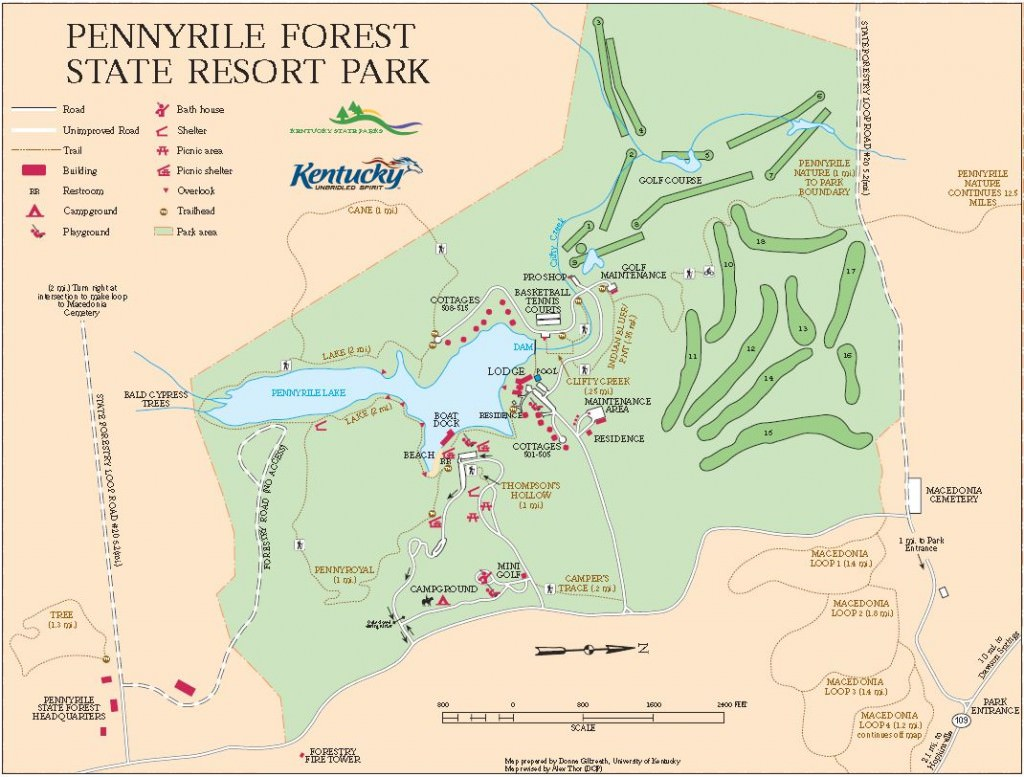 Pennyrile Forest State Park TrailMeister