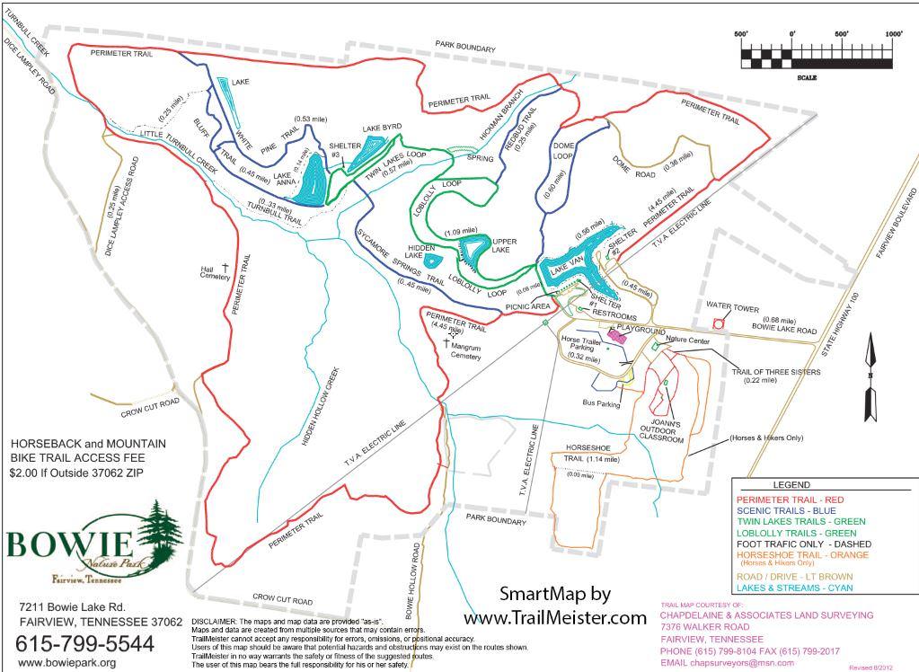 Bowie Nature Park TrailMeister