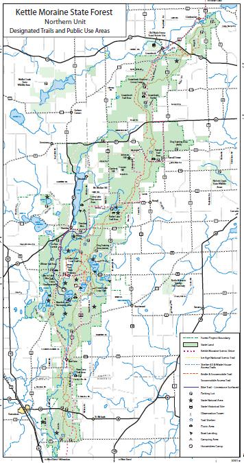 Kettle Moraine North State Forest - TrailMeister on valley of fire state park map, charlie daniels park map, moraine state park fishing map, moraine park campground map, world's end state park map, arkansas diamond state park map, alpine valley ski resort map, horicon state park map, pacific beach state park map, union grove state park map, devil's den state park map, milton state park map, bennett spring state park map, moraine state park hunting map, lake arthur moraine state park map, anza-borrego desert state park map, cumberland state park map, geneva lake state park map, moraine lake canada map, moraine view state park map,