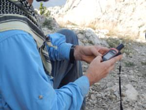 Using a DeLorme InReach in the Bob Marshall Wilderness complex