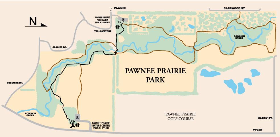 Pawnee Prairie Park - TrailMeister on pawnee county oklahoma map, kiwanis park map, pawnee oklahoma street map,