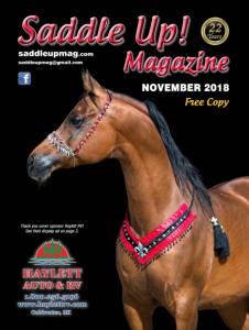 saddle up magazine cover