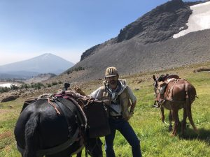Oregon mule camping - Todd Creek