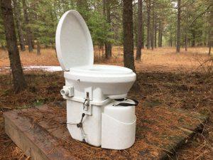 Horse Trailer Toilet
