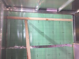 Horse trailer insulation